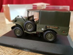 Victoria Vitesse R055 Dodge WC51 Weapons Carrier Closed US Army 1:43 scale R047