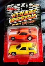 🏁 RACING CHAMPONS 2 Pack - Street Wheels Dynamite Chevy Chevelle & AMC Pacer 🏁