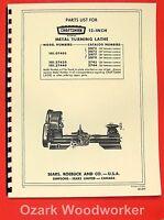 Atlas Craftsman 6 Quot Metal Lathe No 618 Instructions