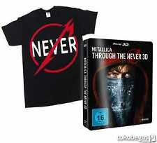 METALLICA Through the Never (Steelbook) [3D Blu-ray inkl. 2D] + T-Shirt L