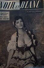 GINA LOLLOBRIDGIDA en COUVERTURE de NOIR et BLANC No 350 DE 1951