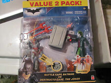Battle Cape Batman vs Destructo Case Joker MINT ON CARD