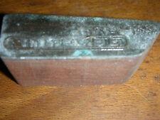 ZÜNDAPP DELPHIN    LOGO  schöner Oldtimer Stempel / Siegel aus Metall