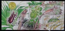 MALAYSIA 1998 INSECTS STAMP SHEET SG MS 714 MNH OG