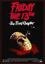 movie film repro friday the 13th final chapter Poster Print A3 This A Poster