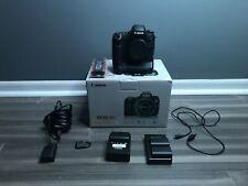 Canon EOS 6D 20.2MP Digital SLR Camera - Black (Body Only), w/ Accessories