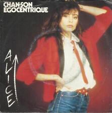ALICE CHAN-SON EGOCENTRIQUE - AZIMUT 45 GIRI