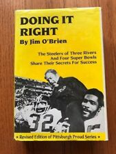 Doing it Right by Jim O'Brien Signed Pittsburgh Steelers 1995