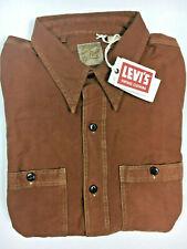 Levi's Vintage Collection LVC Deluxe Shirt Brown Levi's Vintage Clothing Levis