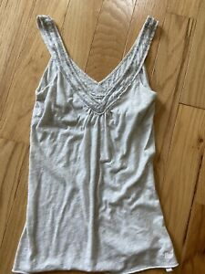 Abercrombie and Fitch Vintage sequin tank top size small y2k Cami Shirt S