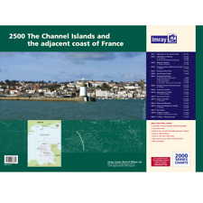 Imray 2500 The Channel Islands and Adjacent Coast of France Boat Chart Atlas