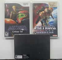 Nintendo Wii Metroid Prime 3 Corruption, Other M & Other M Preorder Art Folio