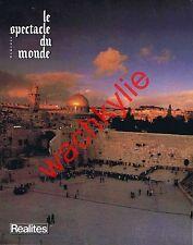 Le spectacle du monde 246 09/1982 Israël Liban Cuba Coppola Nijinski Spessivtsev