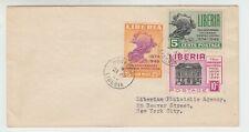 Liberia # 330-31 C67 FDC UPU