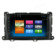 Car Stereo Radio GPS FM for 2011-2014 Toyota Sienna 9'' Touch Screen Android 9.1
