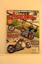 Street Chopper Magazine Merch 131,  Fall 2001