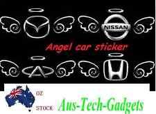 Brand new Silver 3D Angel Angel car sticker cute