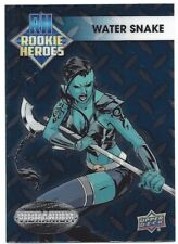 2015 Marvel Vibranium Rookie Heroes Card - Water Snake