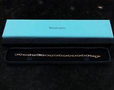 "Tiffany & Co 18K Yellow Gold T Narrow Chain Bracelet 6.5"""