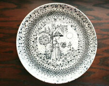 "Vintage Bjorn Wiinblad Plate NYMOLLE 3053-279 Summer Denmark 8.5"""