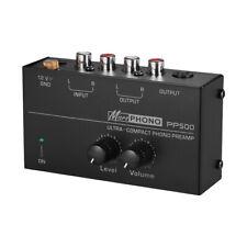 Phono Vorverstärker Mic Verstärker mit Netzteil Phono Vorverstärker Z3U1