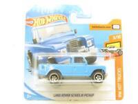 Hotwheels Land Rover Serie III Camioneta Azul FYF07 Corta Tarjeta 1 64 Escala