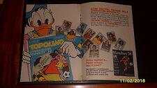Advertising Italian Pubblicità Werbung: TOPOLINO ALBUM MUNCHEN '74 (3) *1974*