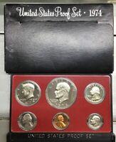 1974 United States Mint Proof Set in Original Box