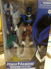 "POWER RANGERS LIGHTNING COLLECTION In Space PSYCHO BLUE RANGER 6"" Figure NEW"