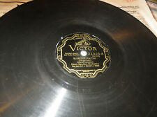 78RPM Victor 21305 Coon-Sanders, Sluefoot / The Wail, clean worn typical V-