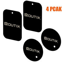 4x Replacement Metal Plate Disc for Magnetic Car Dash Phone GPS PDA Mount Holder