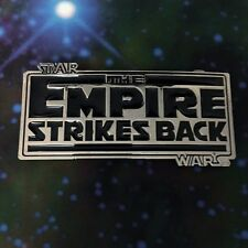 CH Original STAR WARS The EMPIRE Strikes Back logo belt buckle Cosplay US Seller