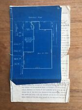 1920 E.C.LUDBROOK BLUEPRINT & PURCHASE CONTRACT CANTERBURY RD BOX HILL DOC P71