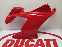 Ducati Right hand RH upper fairing panel red Panigale V4S 48019172AA