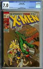 X-MEN #60 CGC 7.0 OW/WH PAGES // 1ST APPEARANCE OF SAURON 1969