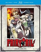 Fairy Tail: Collection Ten [New Blu-ray] Oversize Item Spilt , With DVD, Boxed