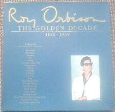 "Roy Orbison - The Golden Decade 1960-1969 4x12"" + Booklet ROYLP 47002/1"