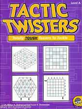 Tactic Twisters Brain Game Puzzle Book - Level A - Mindware + Christensens