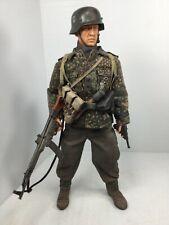 1/6 DRAGON GERMAN 9TH SS PANZER DIV MECHANIZED INF LT MP-44 &  LUGER DID BBI WW2