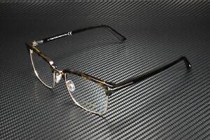 Tom Ford FT5504 052 Dark Havana Clear Lens Plastic 54 mm Men's Eyeglasses