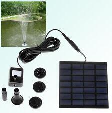 Bomba de agua con panel solar y batería a 140 mA - Ideal sin puntos de corriente