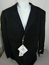 Armani Collezioni Men's Striped Three Button 3Pc 100% Wool Suit 52 ITA 42US NEW