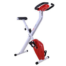 Foldable Exercise Bike Upright Stationary Bike Strength Training Cardio Workout