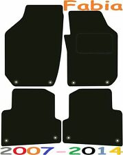 Skoda Fabia Tailored Deluxe Quality Car Mats 2007-2014