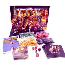 Lord of the Rings RISK Trilogy Edition Board Game 100% Complete With Ring!