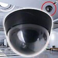 LOT DE 4 CAMERAS DOME CCTV FACTICE SX-80 (Batteries incluses) !