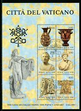 Vatican Scott #718 S/S FIRST DAY CANCEL Papacy and Art 1983 Exhibit CV$3+
