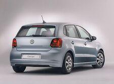 VW POLO BLUE MOTION V 5 6R Hochglanz Pressemappe Media Kit 2009 ++++++++++++++++