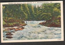 1938 post card Christine Falls Speculator Ny to H A Wadsworth Washington Dc