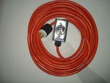 Generator Extension Cord To Welder L14 30p 6 50r 100 Ft 3prong Outlet 50off